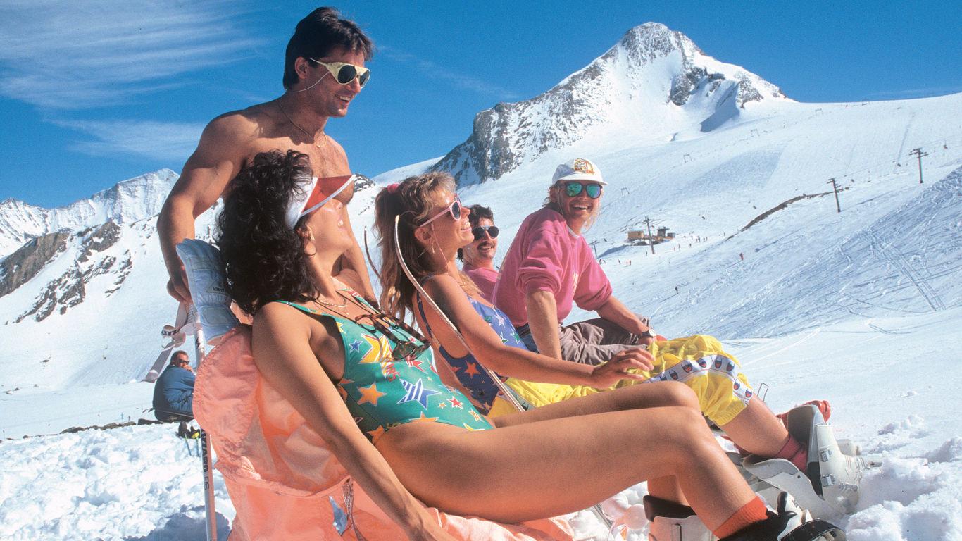 90er Jahre: Snowboards und Carving-Skier