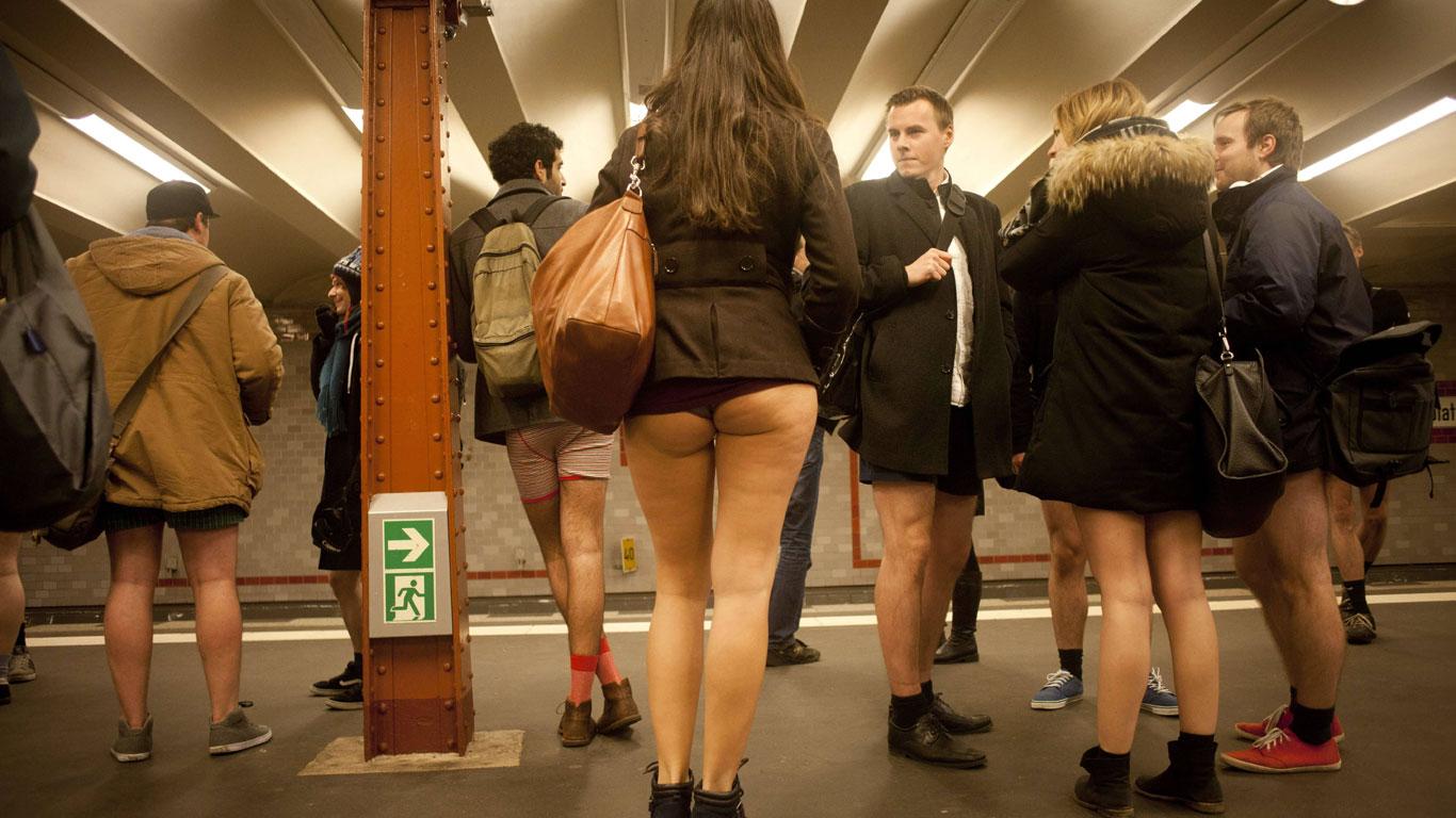 Haut zeigen in der Öffentlichkeit