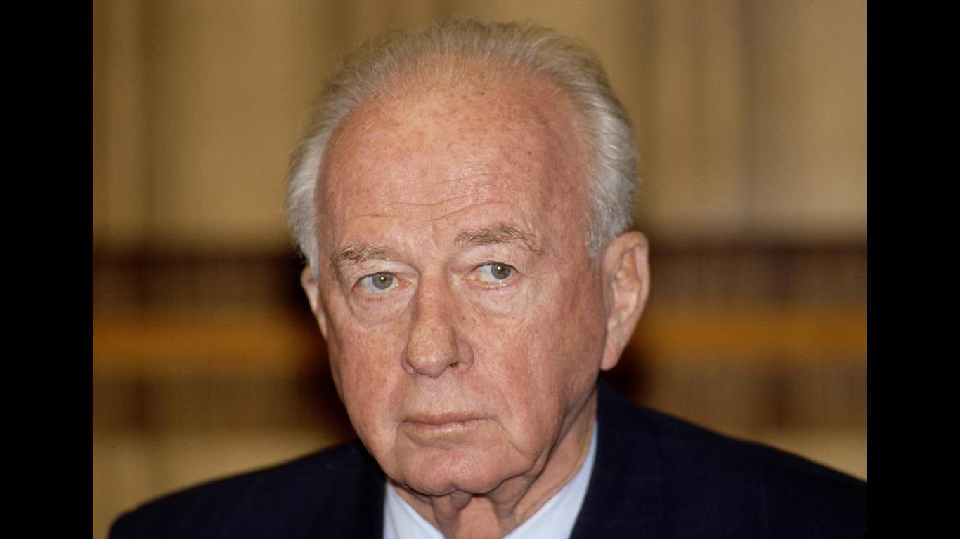 Jitzchak Rabin: 4. November 1995, Tel Aviv