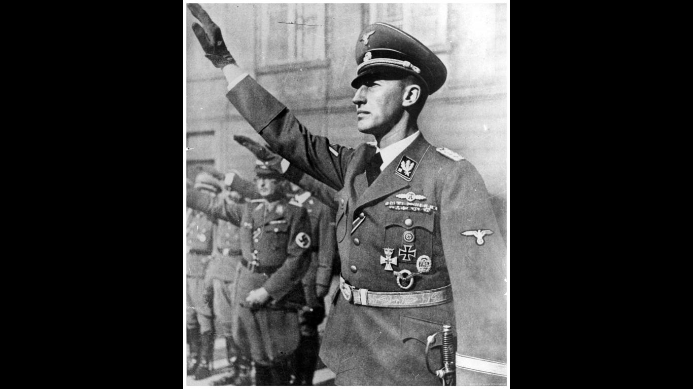 Reinhard Heydrich: 27. Mai 1942, Prag