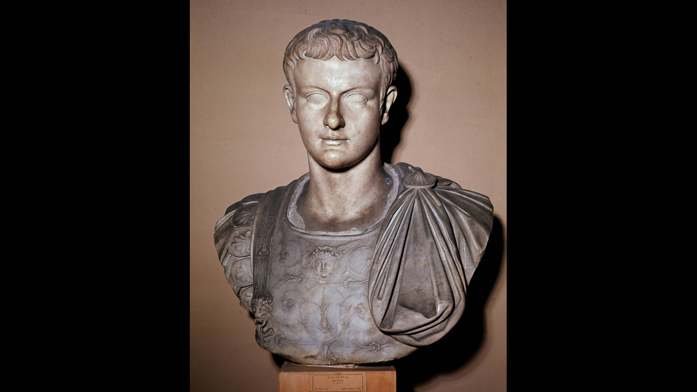Caligula: 21. Januar 41 n. Chr., Rom