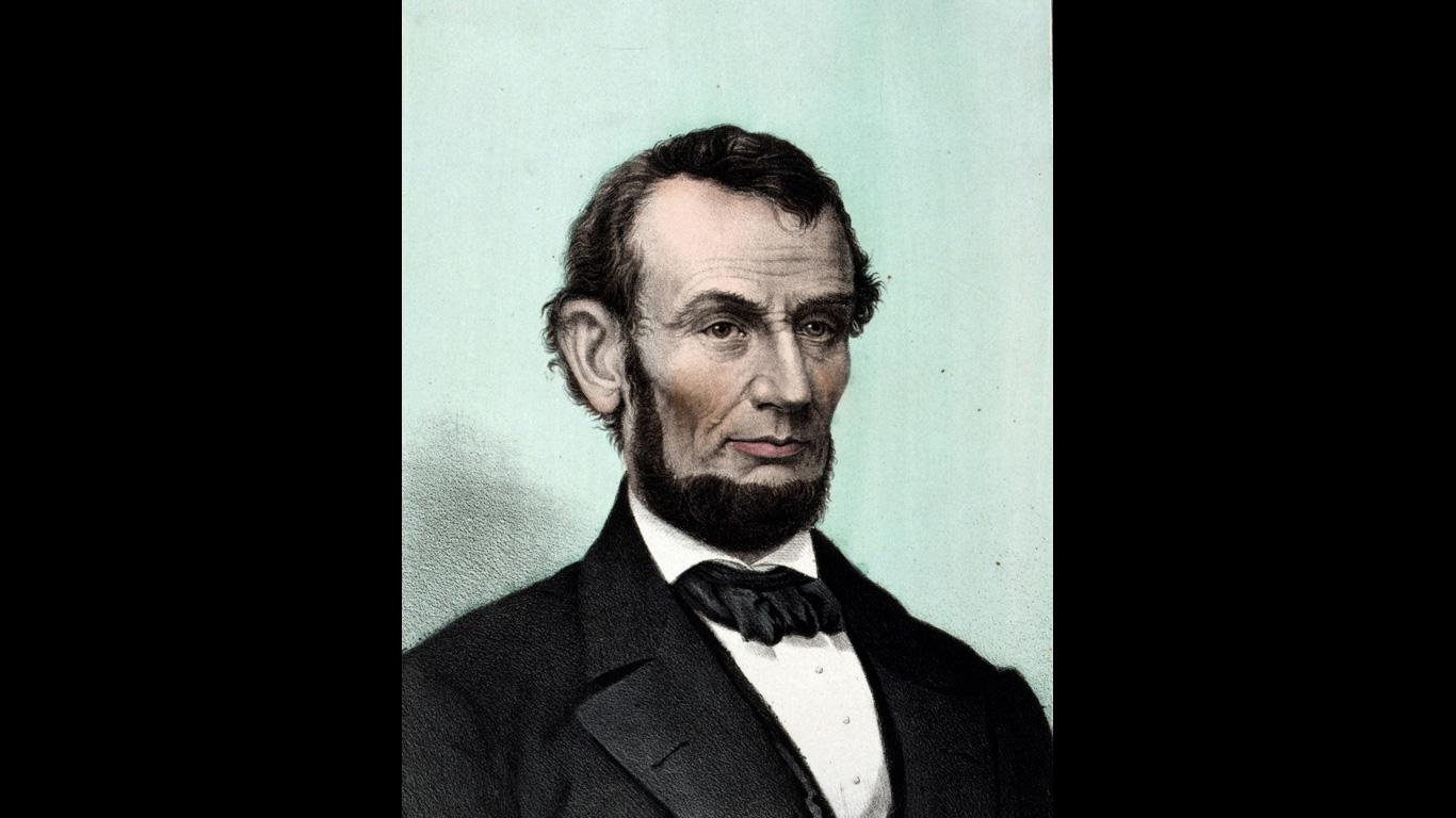 Abraham Lincoln: 14. April 1865, Washington D.C.