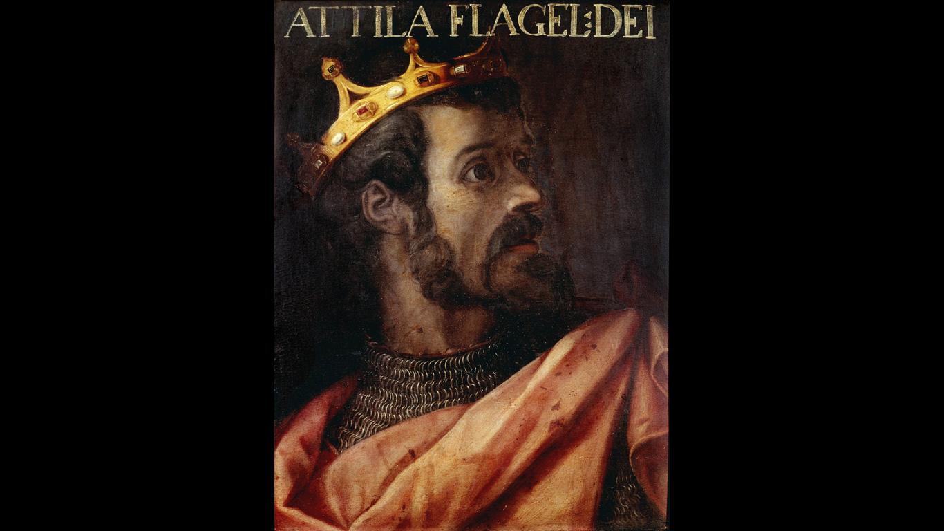 Attila: Ca 453 n. Chr., Ungarn