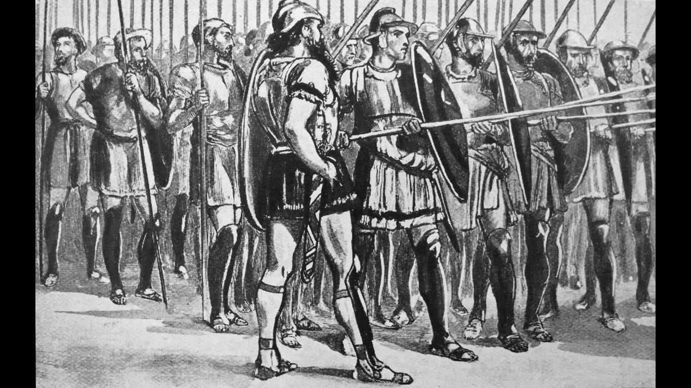 Philipp II.: Ca. 336 v. Chr.