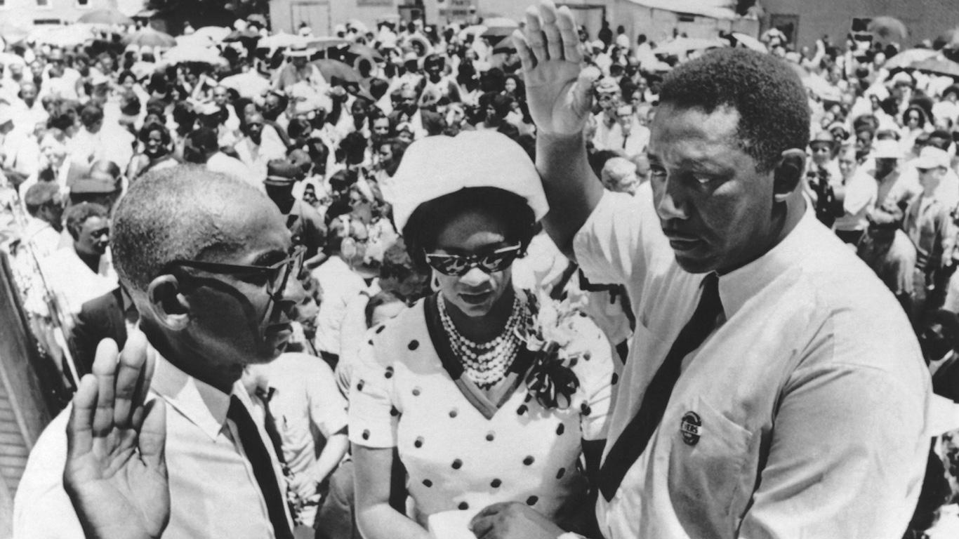 Medgar Eves: 12. Juni 1963, Mississippi