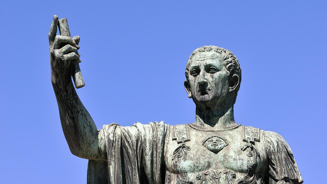 Julius Cäsar: 15. März 44 v. Chr., Rom