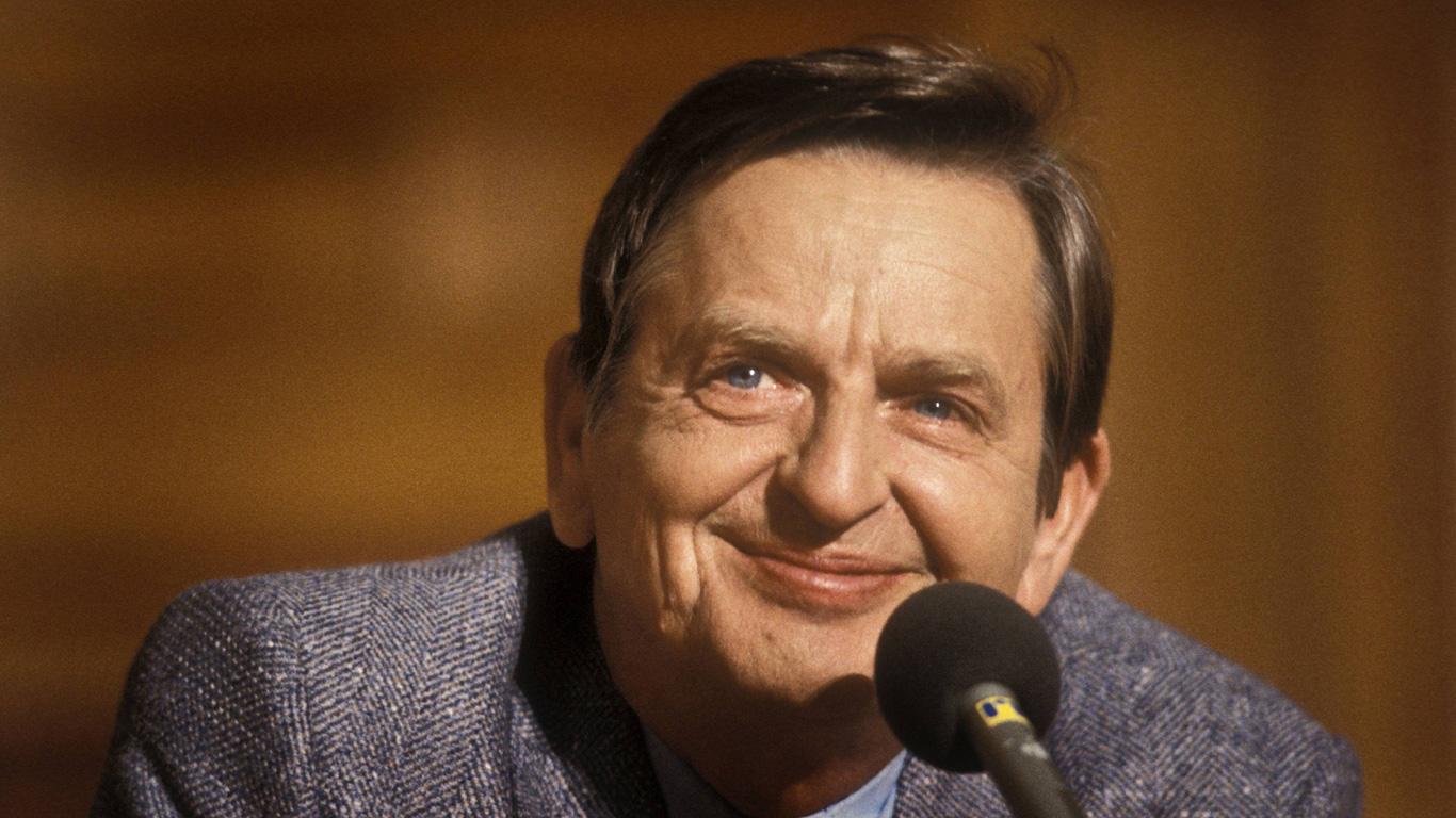 Olof Palme: 28. Februar 1986, Stockholm