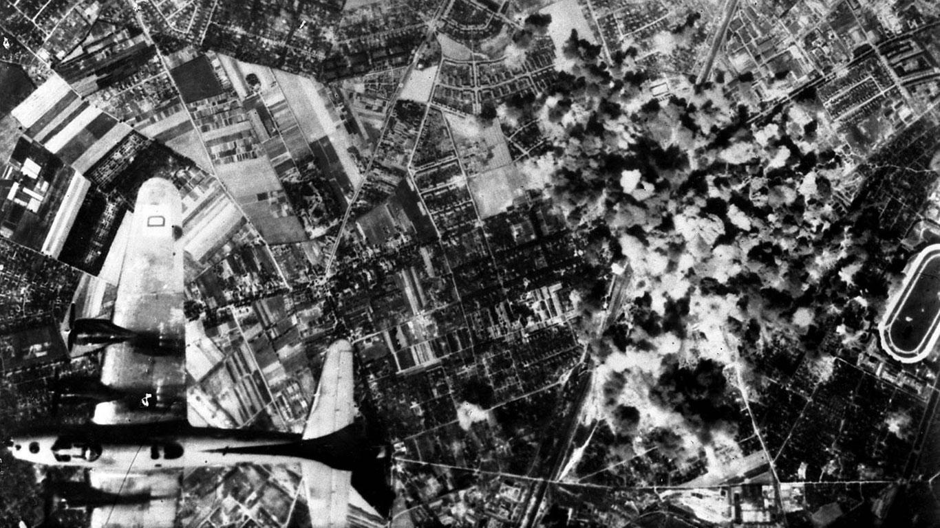 Der schwerste Bombenangriff des 2. Weltkriegs