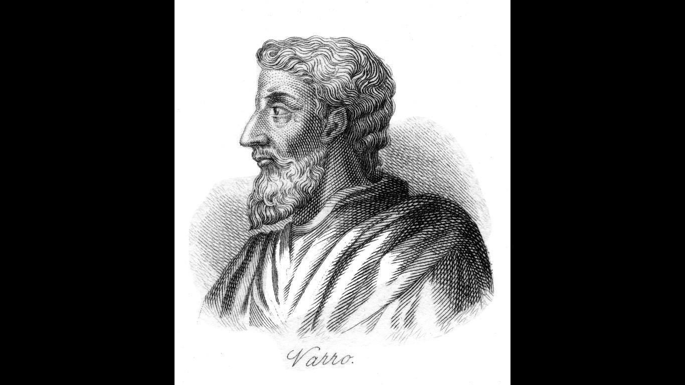 Römisches Genie: Marcus Terentius Varro