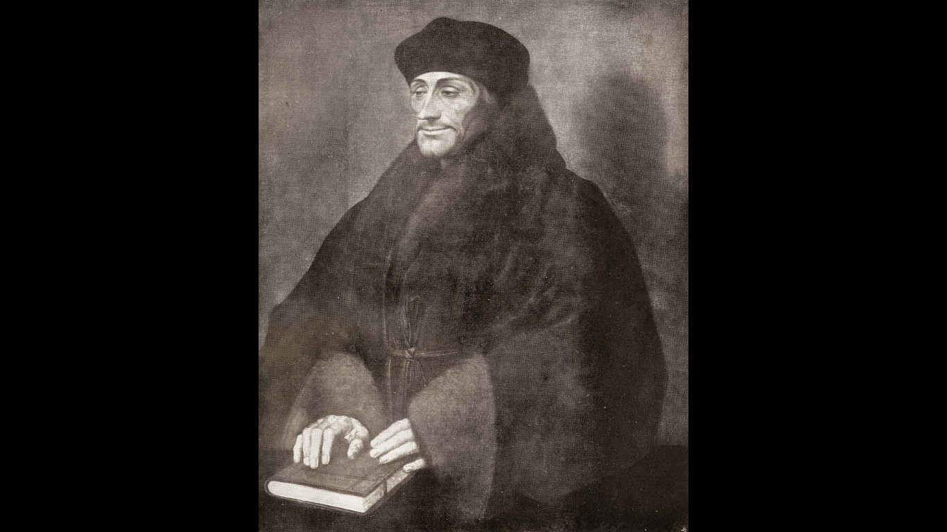 Der Vielschreiber: Erasmus von Rotterdam