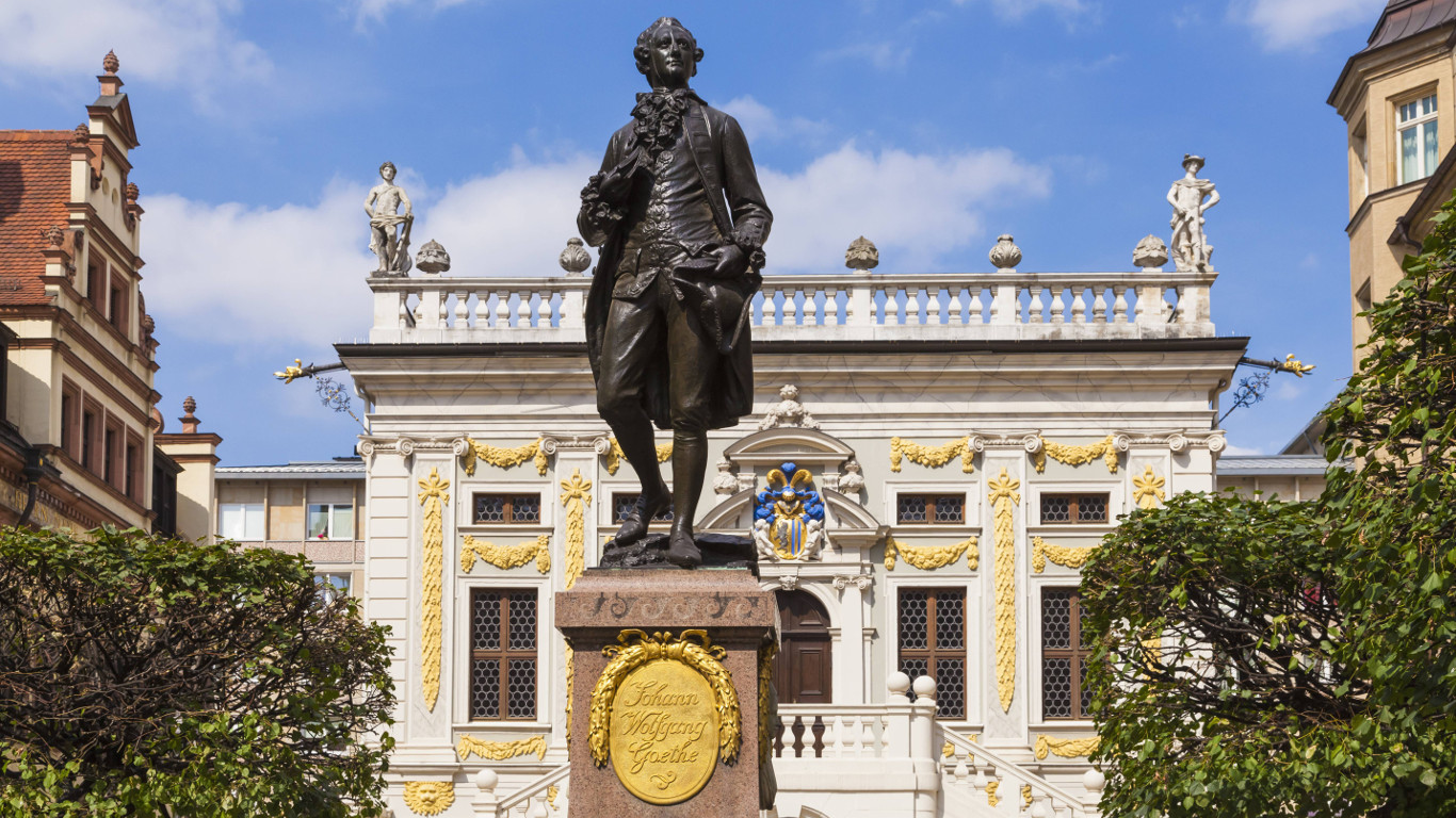 Vielseitiger Dichterfürst: Johann Wolfgang von Goethe