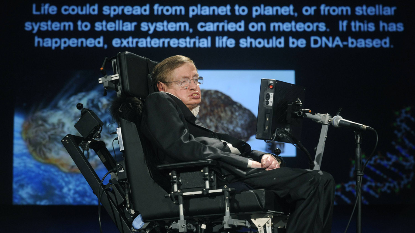 Meister des Universums: Stephen Hawking