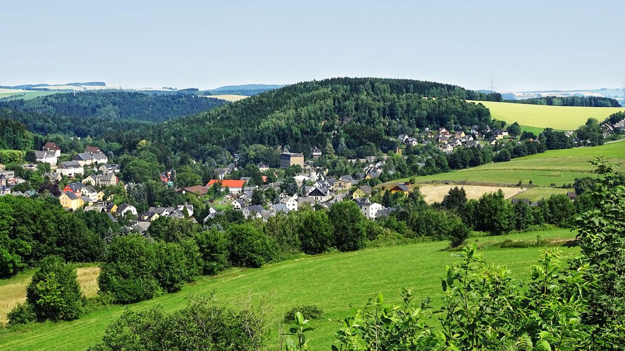 Welcher deutsche Berg hat die Welt geteilt?