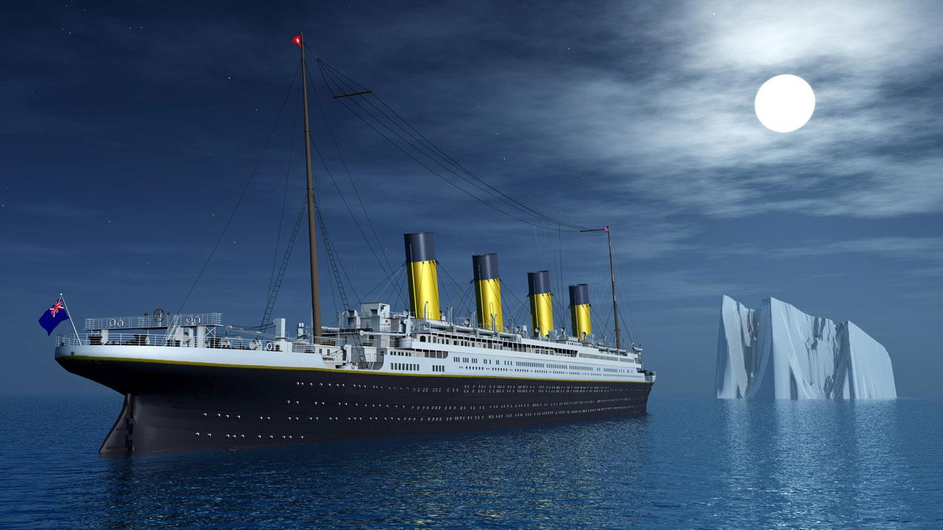 """Der Untergang der """"Titanic"""""""