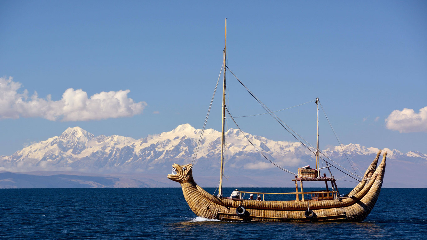 Boote aus Papyrus