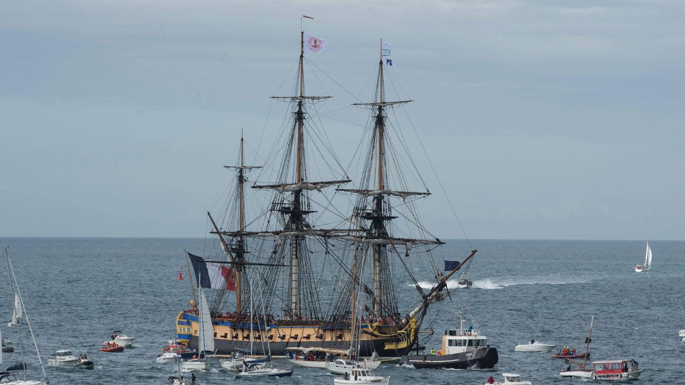 Blütezeit der vollkommenen Segelschiffe