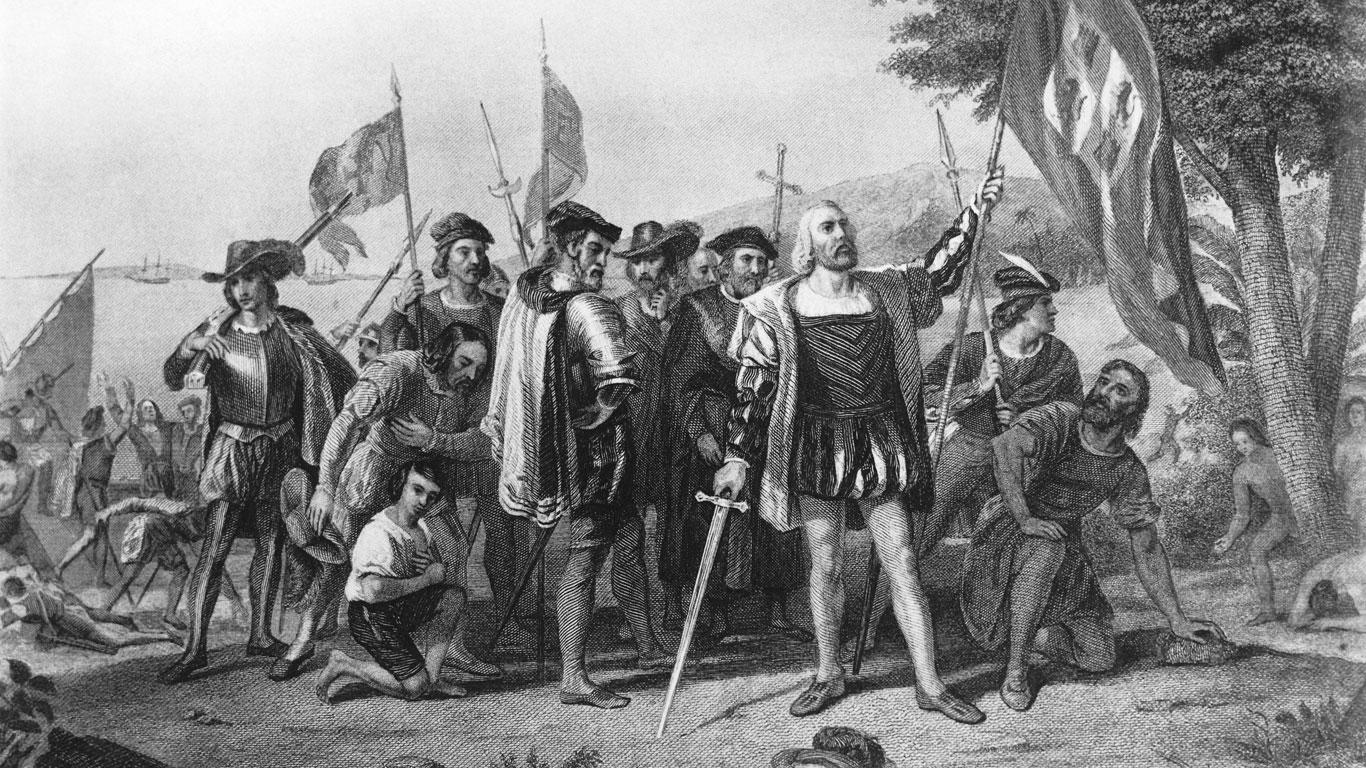 Kolumbus' Reise ins Paradies