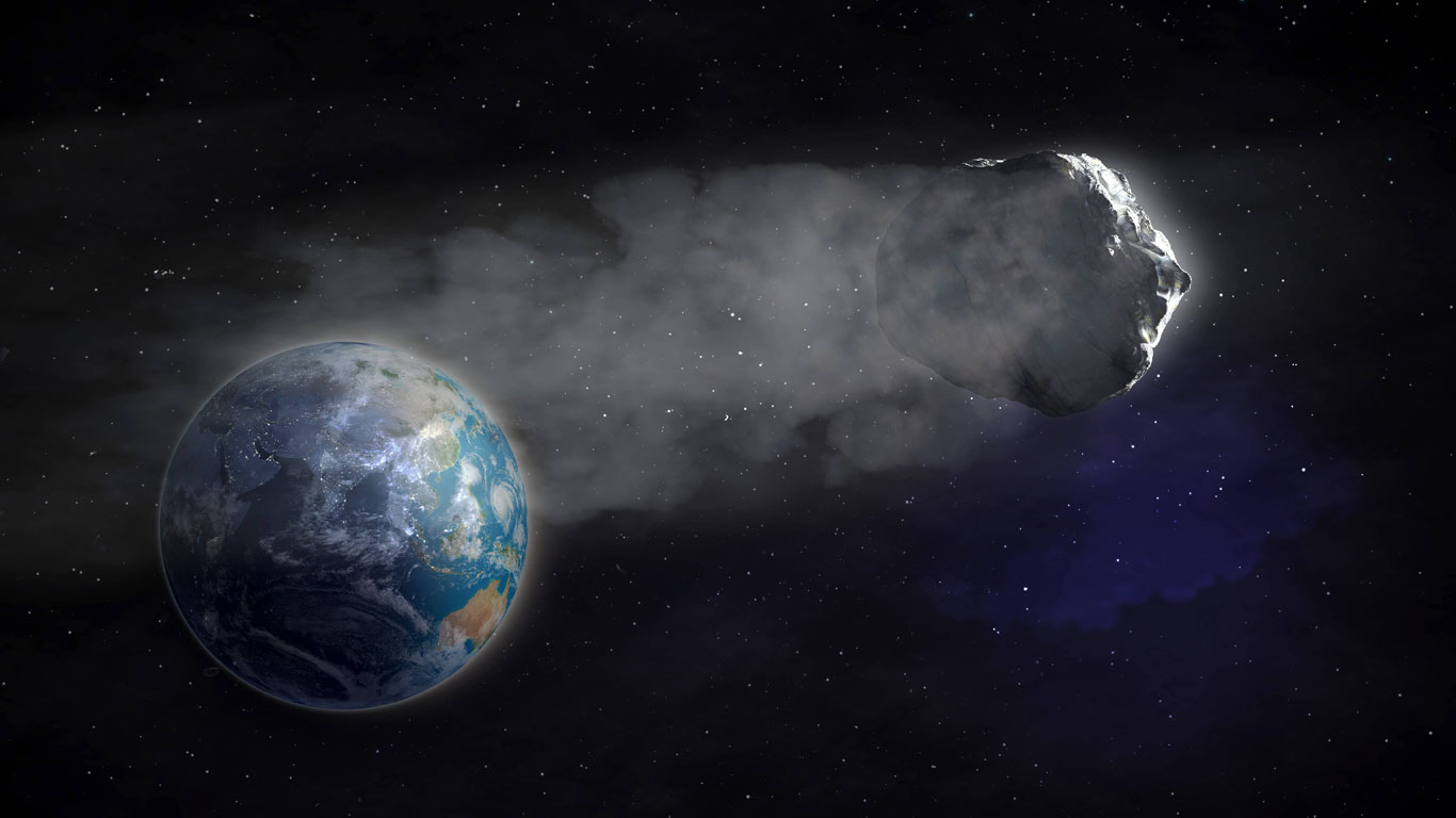 Halleyscher Komet: Klappe, die zweite