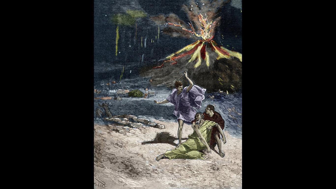 Der Untergang Pompejis