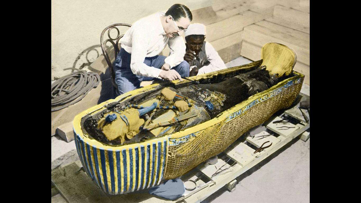 Der Fluch des Tutanchamun