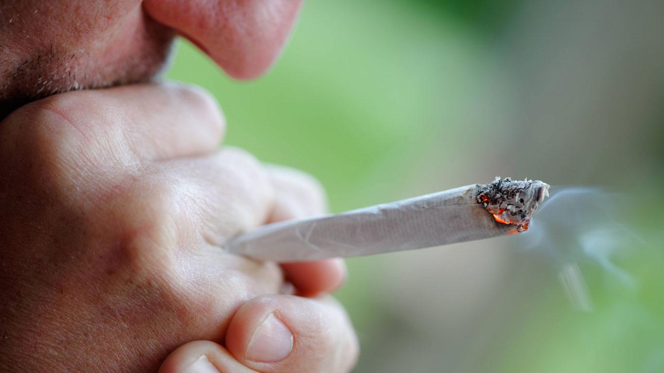 Eine Nebenwirkung von Drogen?