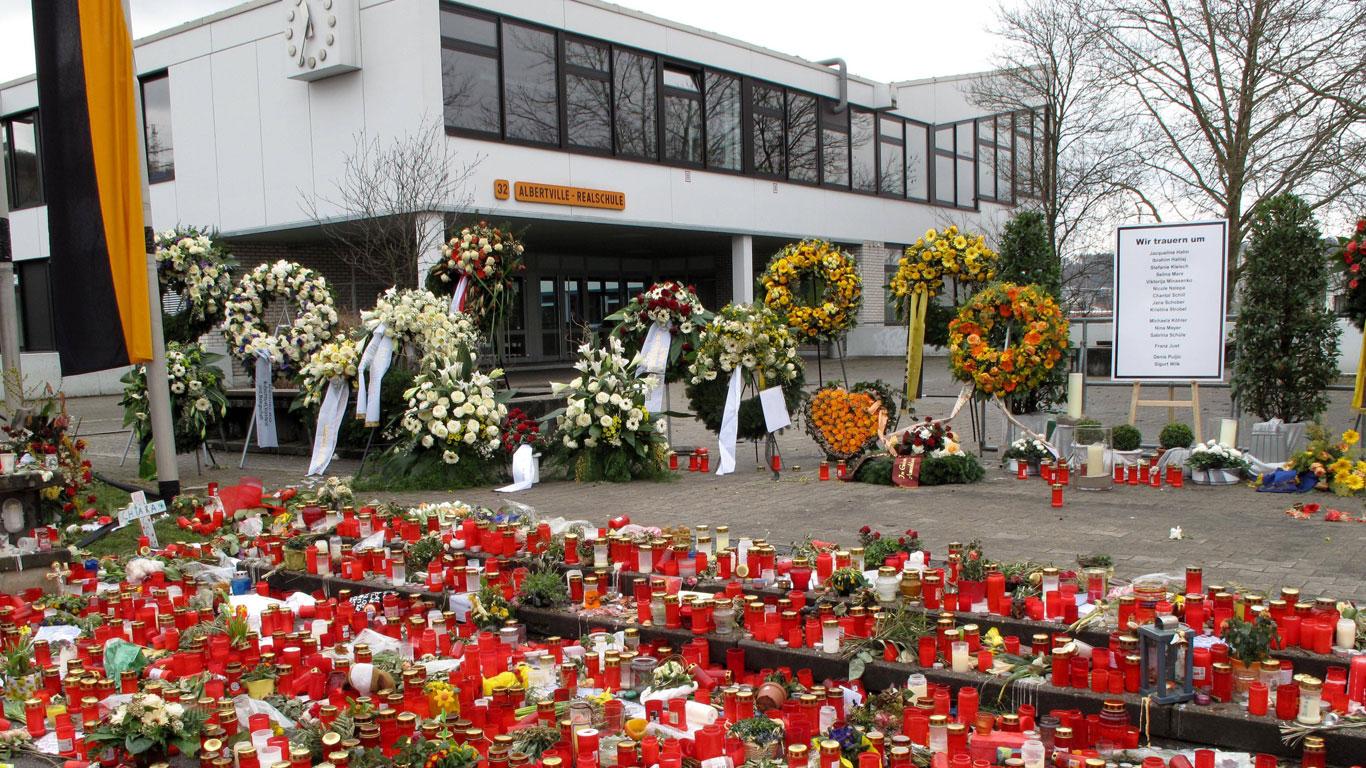 11. März 2009: Albertville-Realschule in Winnenden