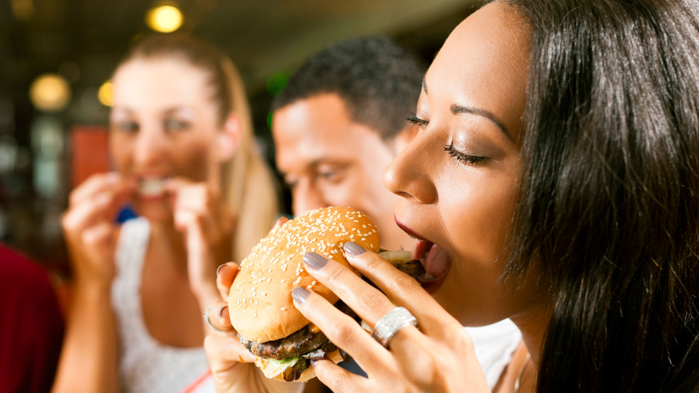 Mythos eins: Fastfood macht dick