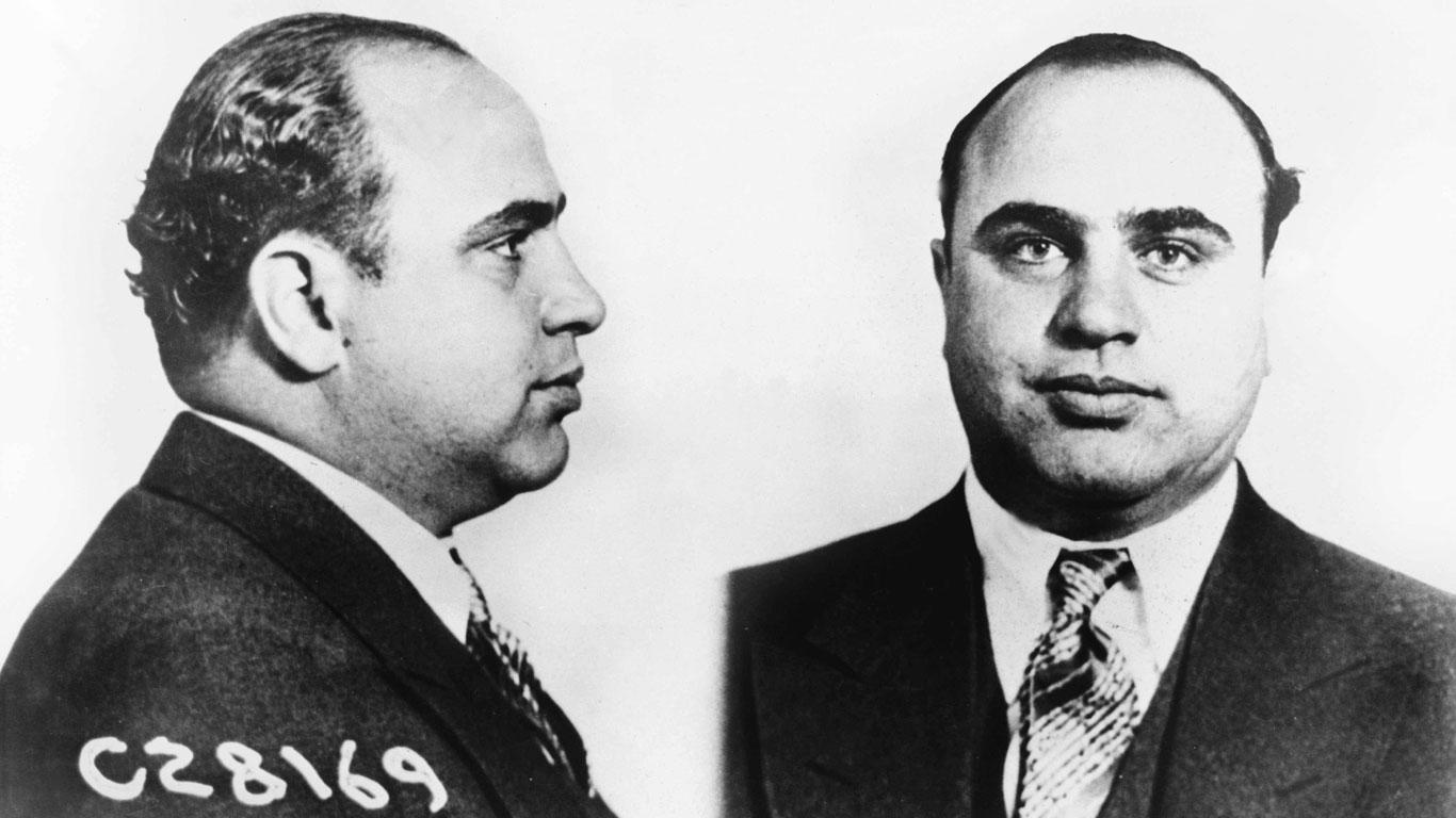 Der Prototyp des charmanten Schlitzohrs: Al Capone