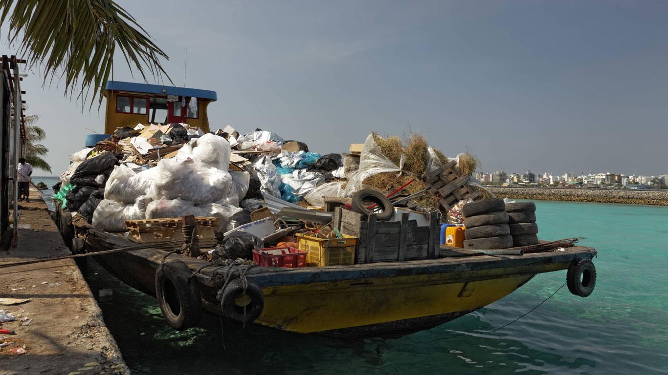 Müllhalde statt Inselparadies