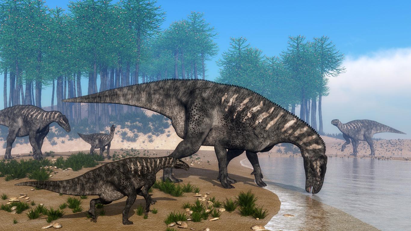 Die Kuh der Dinosaurierzeit