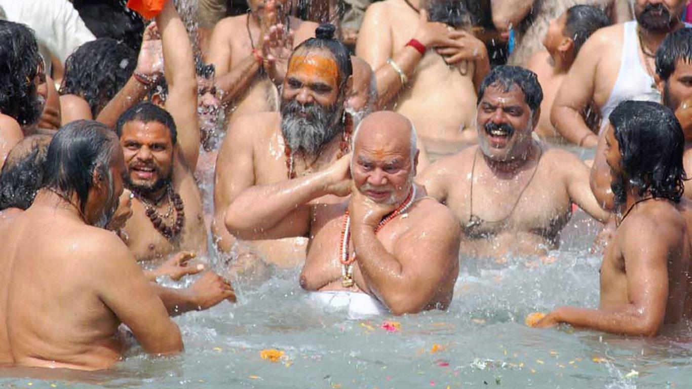 Gefährliches Bad im Ganges
