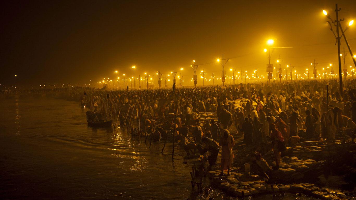 Pilgerfahrt Kumbh Mela