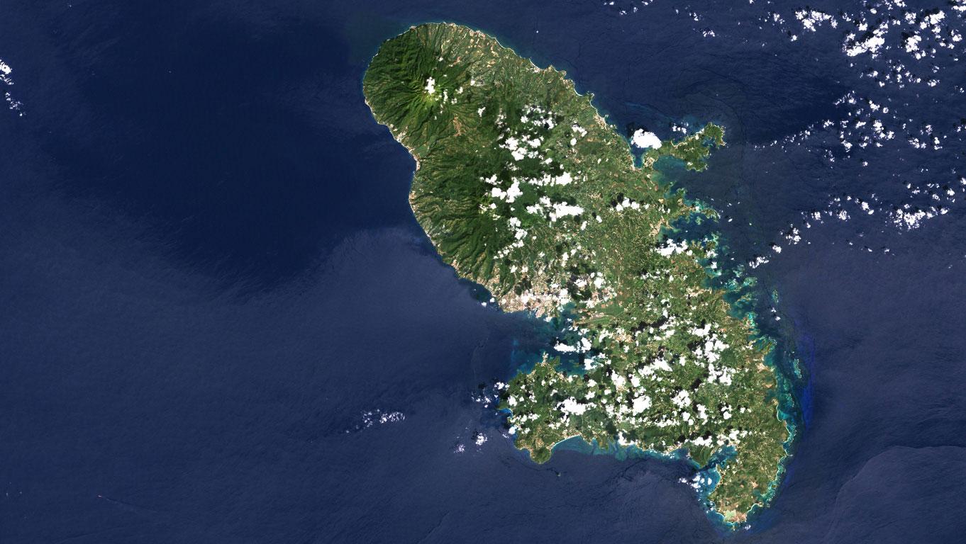 Platz 3: Mount Pelée, Martinique