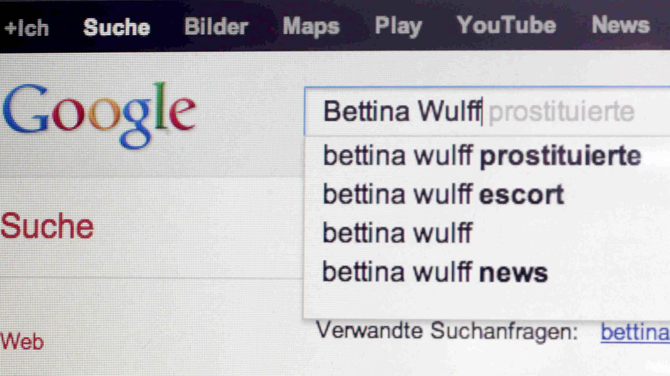 Können Suchmaschinen Rufmord begehen?