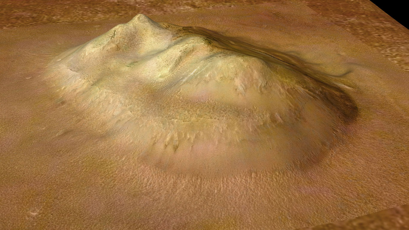 Sieht der Mars uns an?