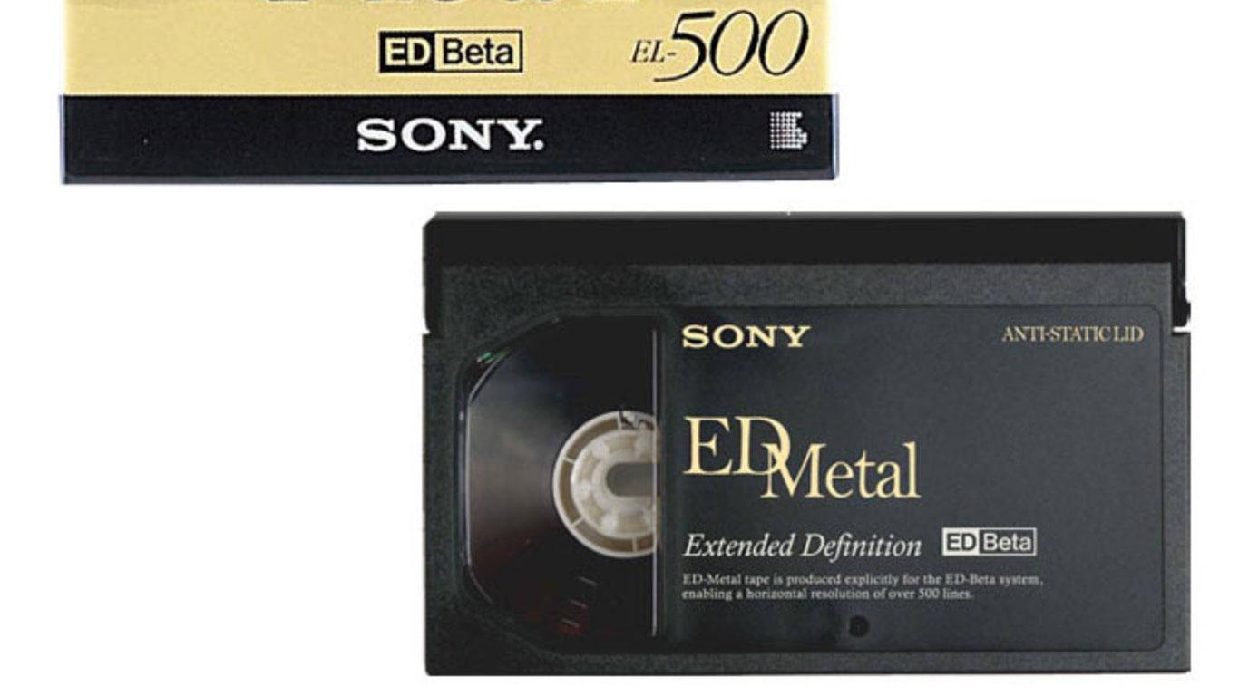 Betamax und Video2000
