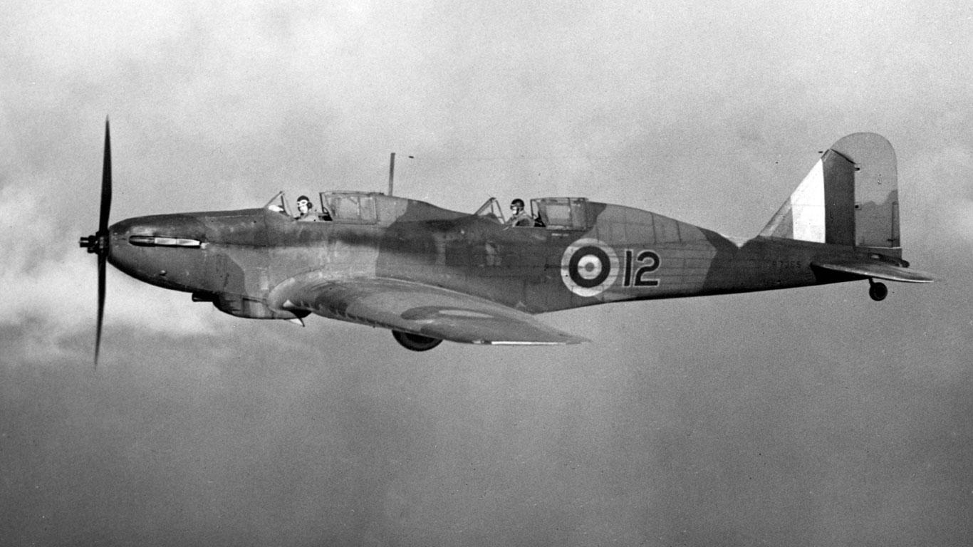 Ein Bomber aus dem Zweiten Weltkrieg