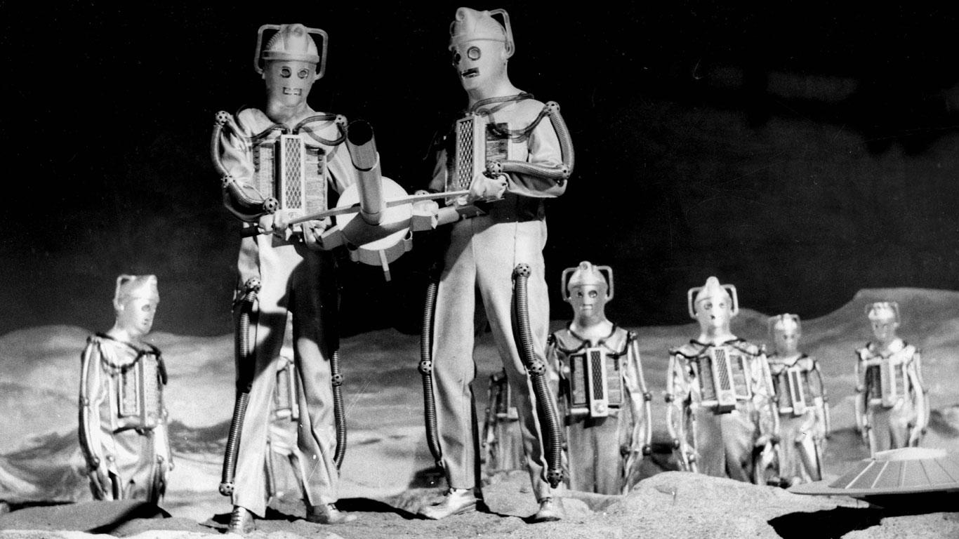 Cybermen und Dr. Who