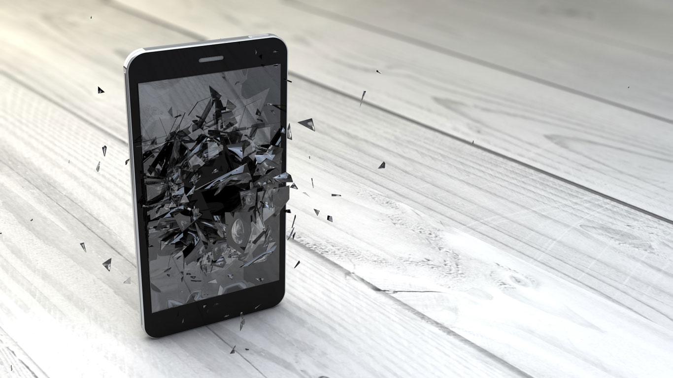 Mobiltelefone können plötzlich explodieren