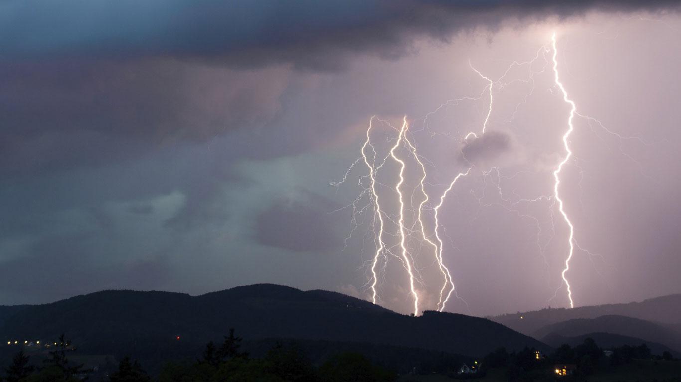 Ein Blitz schlägt niemals an der gleichen Stelle zweimal ein