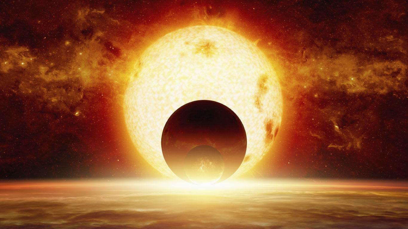 Im Sommer ist die Erde näher an der Sonne als im Winter
