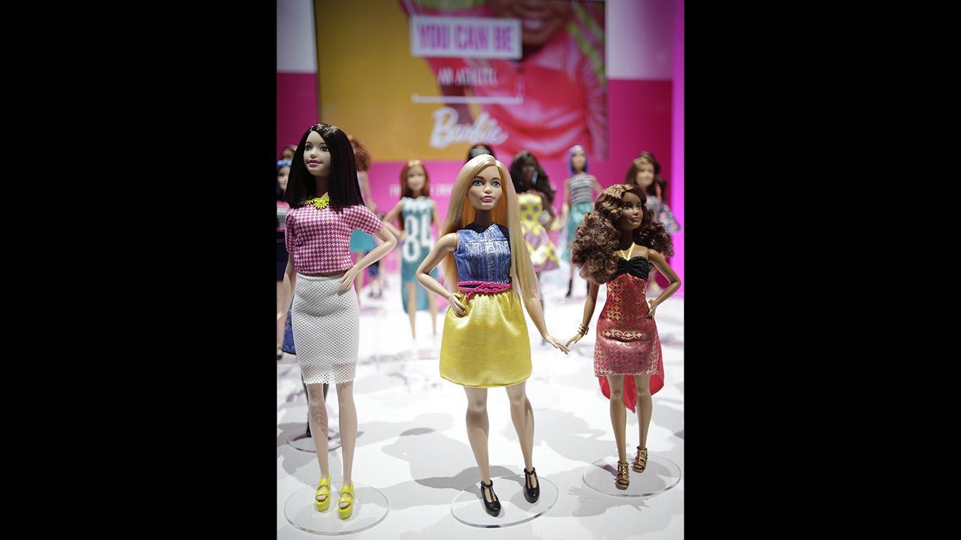 Barbie wird realistischer