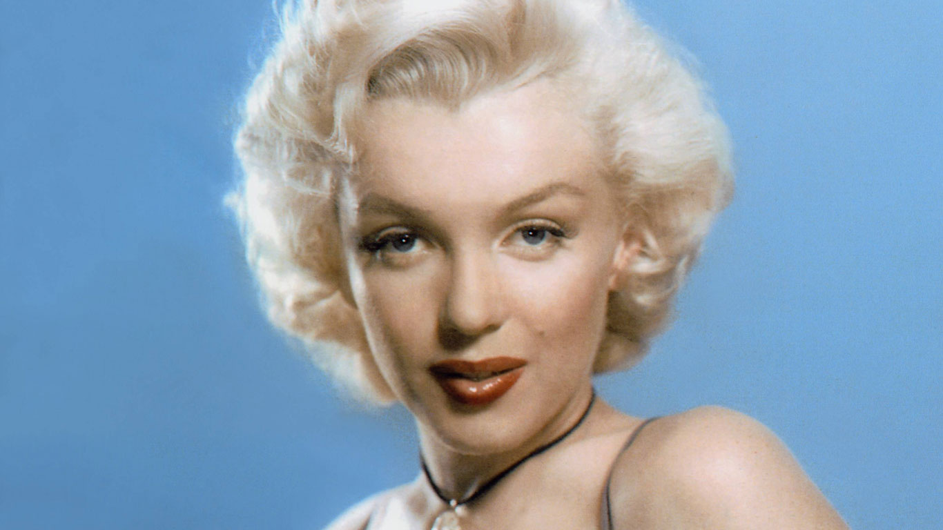 War Marilyn Monroe eine Blondine?