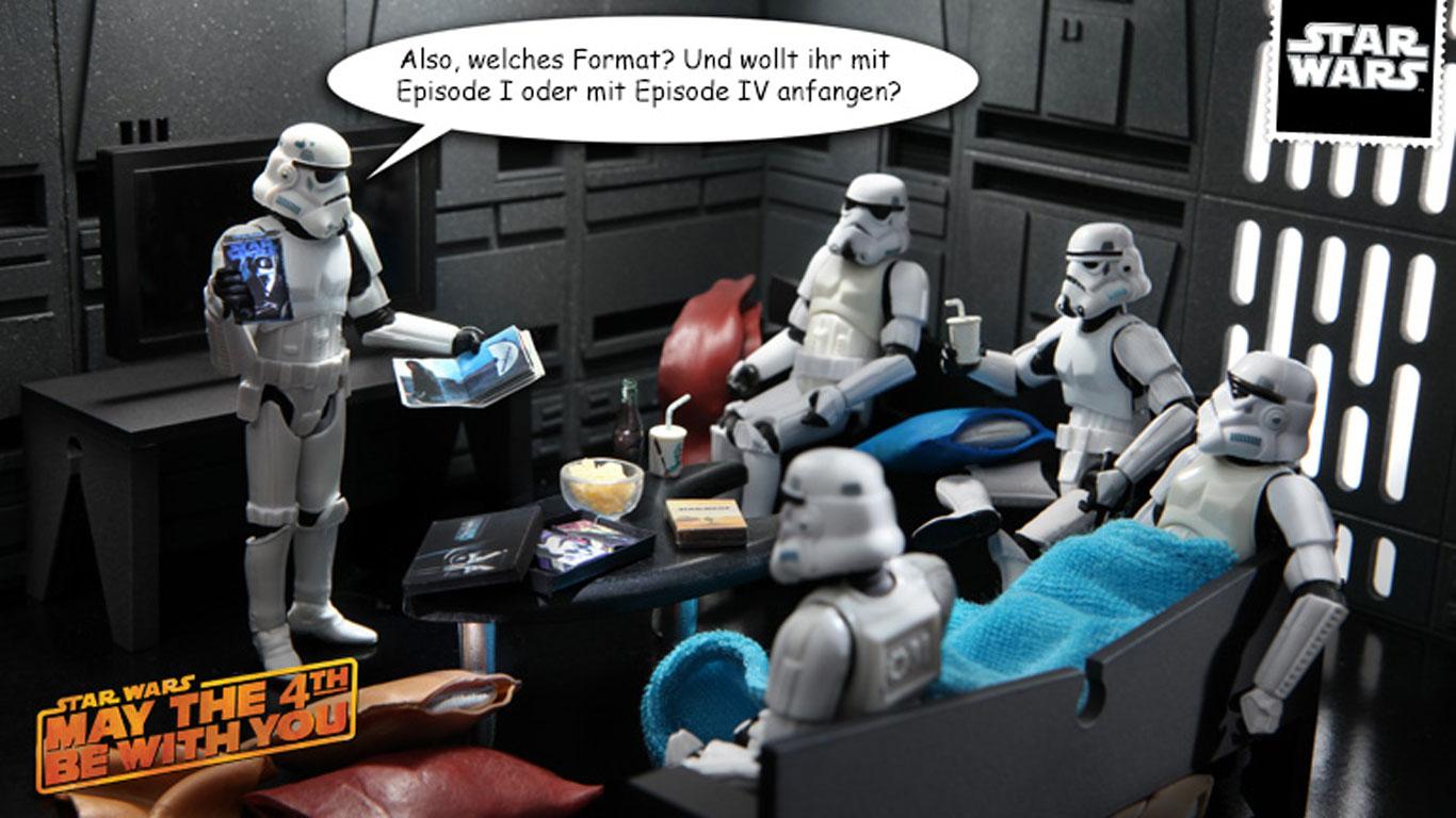 Warum feiern Star Wars-Fans den 4. Mai?