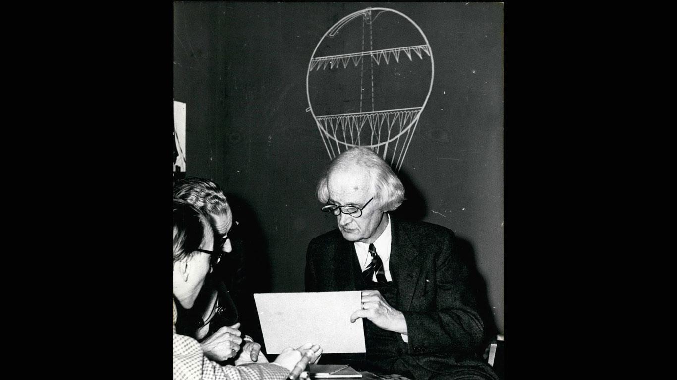 1931: Professor Auguste Antoine Piccard und Dr. Paul Kipfer
