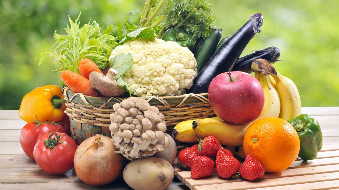Fasten mit Obst und Gemüse