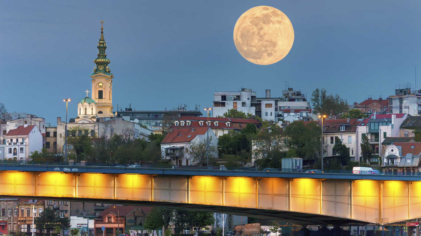 Platz 8: 1,76 Euro in Belgrad
