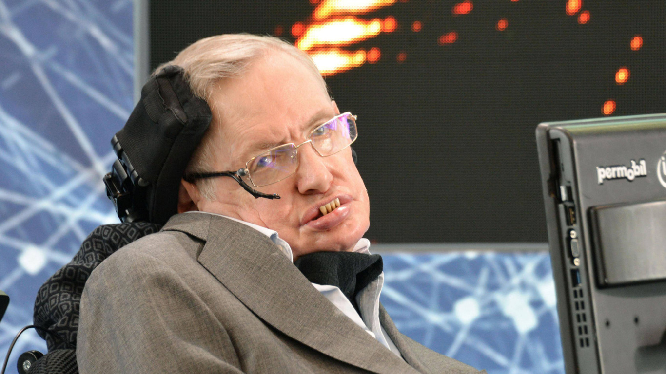 Stephen Hawking stirbt