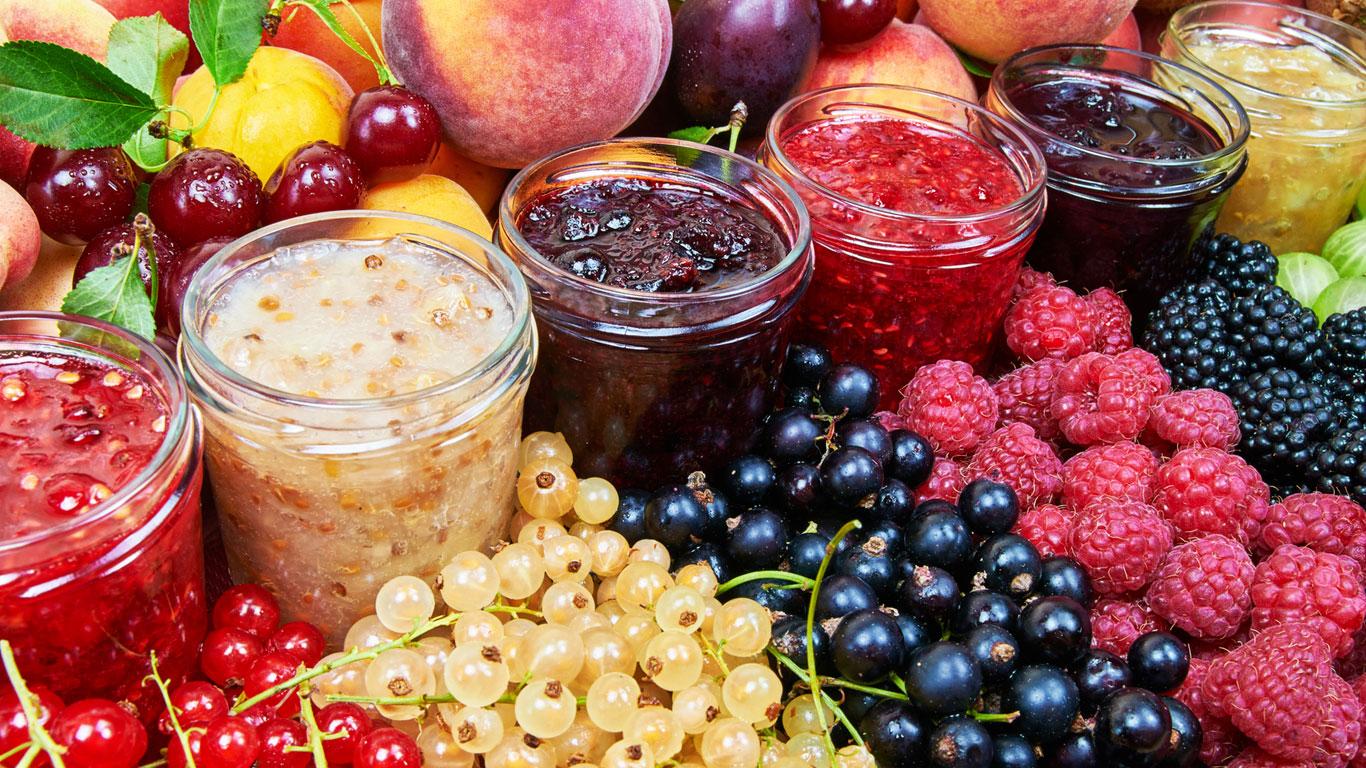 Angebrochene Marmelade muss in den Kühlschrank