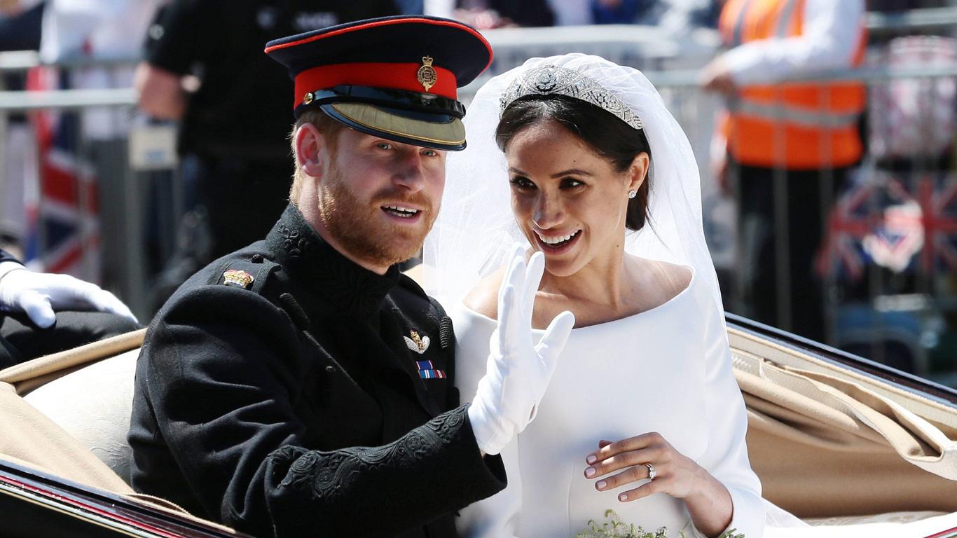 Traumhochzeit von Prinz Harry und Meghan Markle